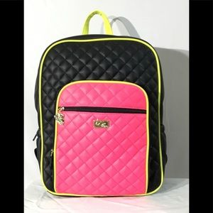Luv Betsey By Betsey Johnson Neon Backpack NWT